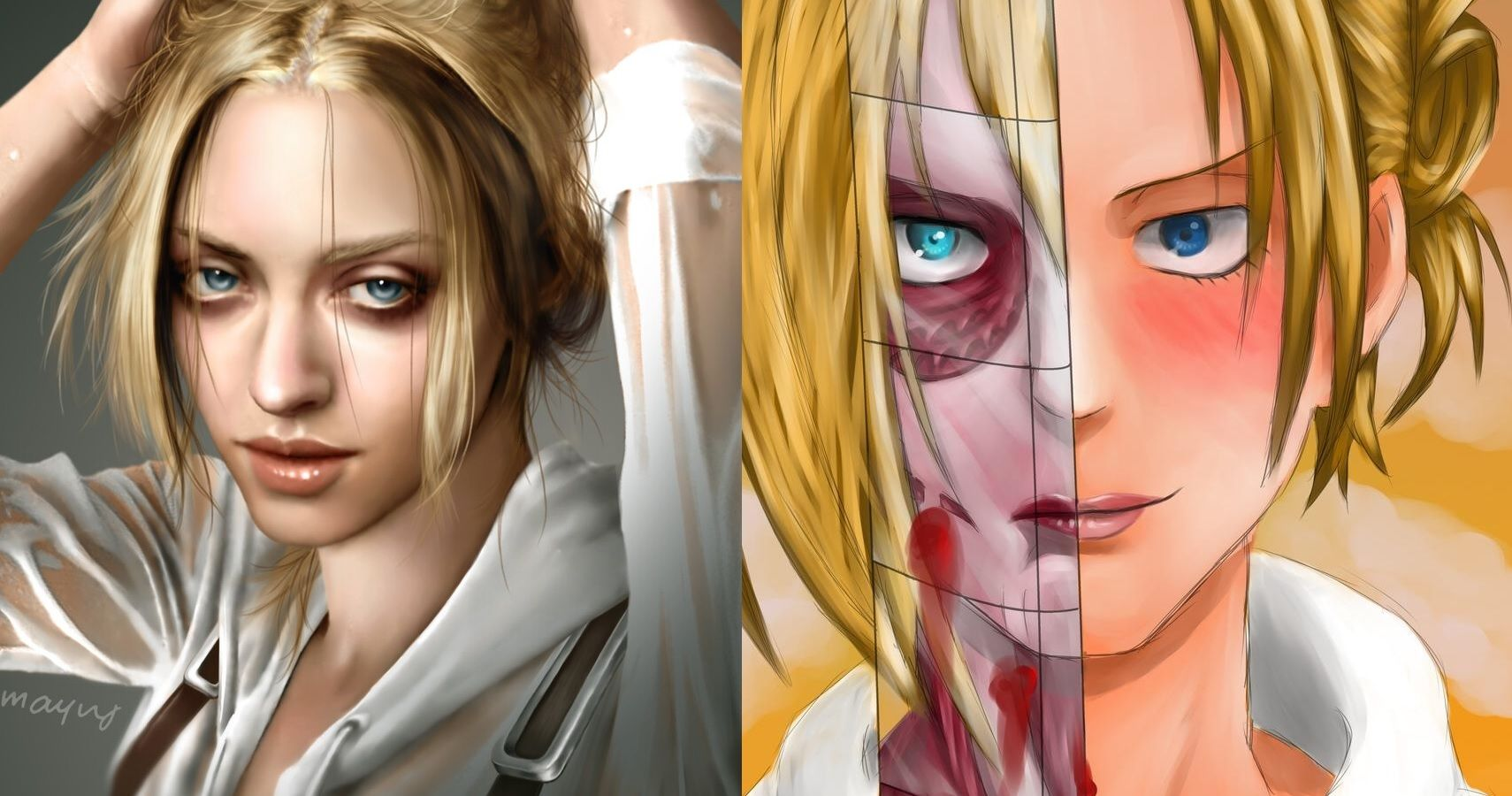 Attack On Titan 10 Annie Leonhart Fan Art Pictures Just Like The Anime
