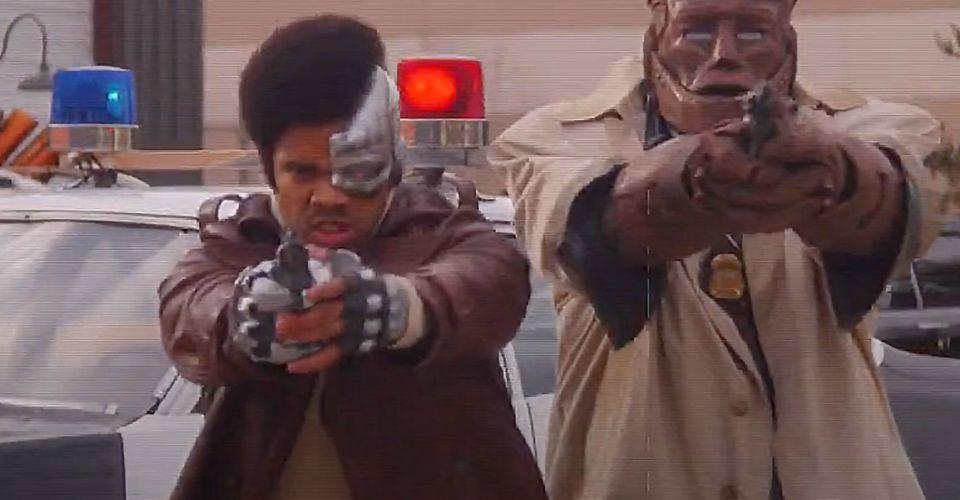 Doom Patrol Finger Patrol Promo Gives Cyborg A New Look Cbr