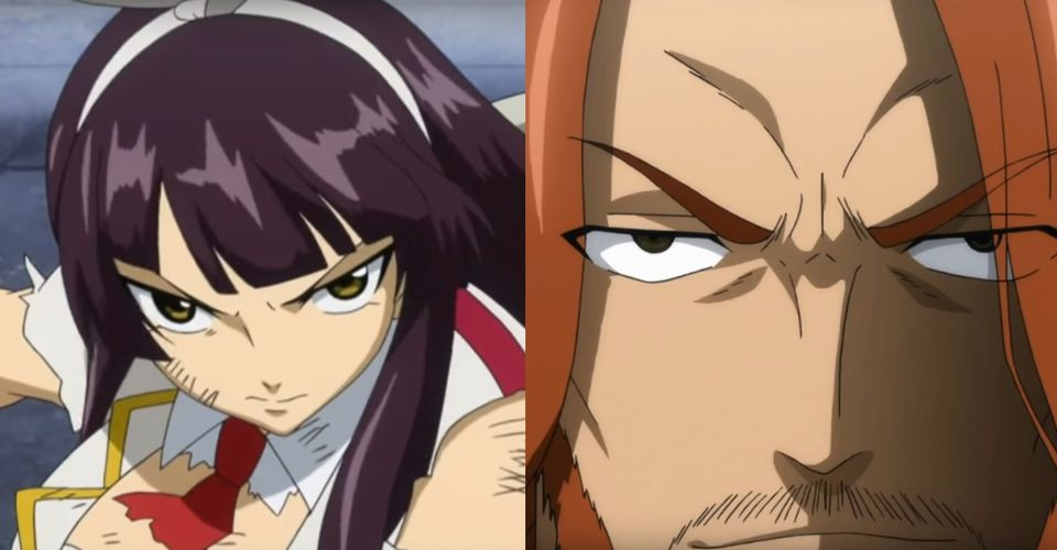 Fairy Tail 10 Characters Who Are Definitely Stronger Than Gajeel Which is probably why jean always puts her in solitary confinement (aka grounded). fairy tail 10 characters who are