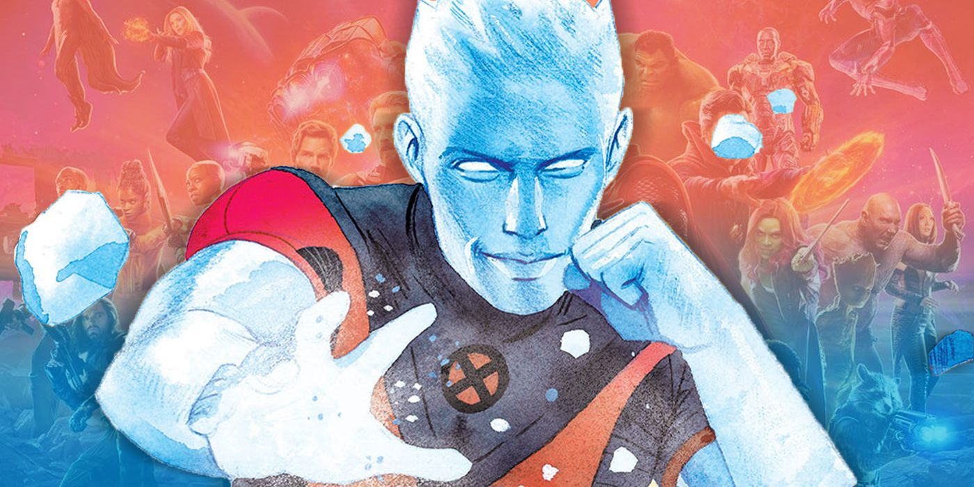 X-Men: Iceman Is the PERFECT Character to Introduce Mutants to the MCU