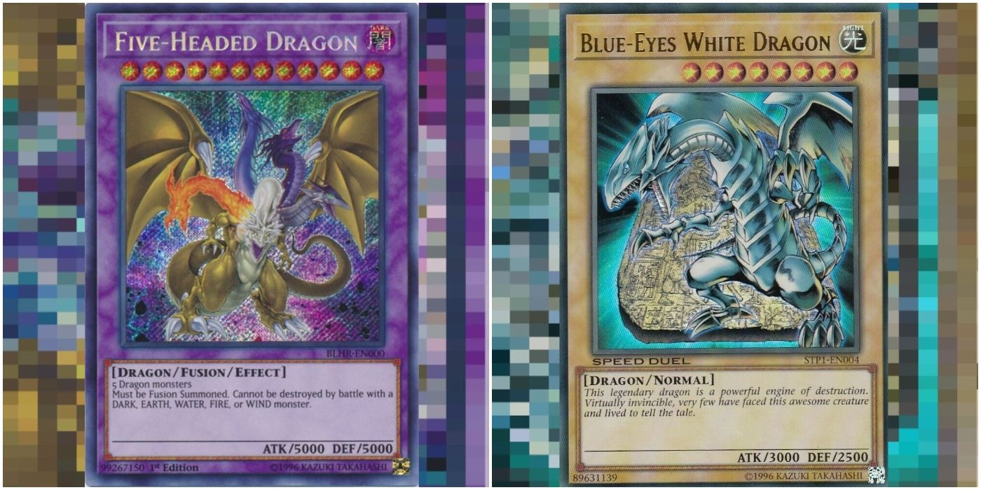 Yu Gi Oh The 10 Most Powerful Dragon Cards Ranked Cbr