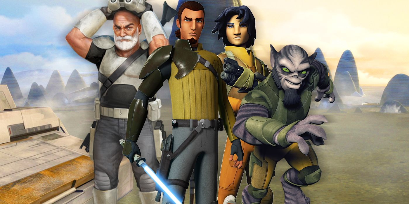 How Star Wars Rebels Finally Brought the Clone Wars to an End