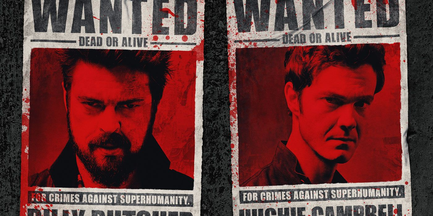 The Boys Are Wanted, Dead or Alive, on Season 2 Poster