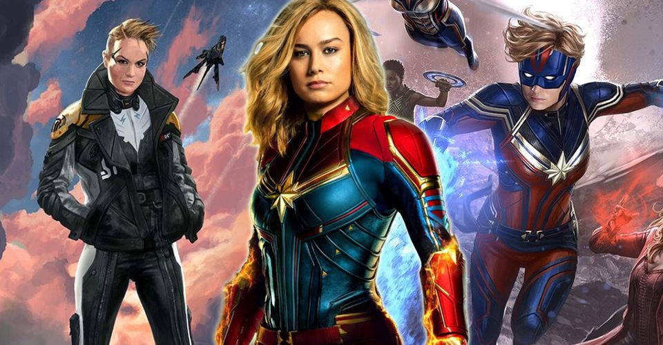 Captain Marvel Every Official Unused Superhero Costume Revealed For The Mcu Avenger So Far Great quality suit very comfortable and lightweight. captain marvel every official unused