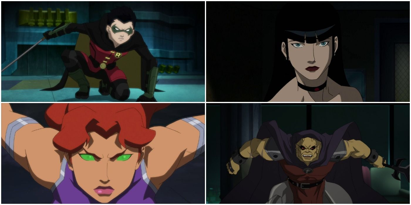 5 Characters Justice League Dark Apokolips War Did Dirty 5 Who Were Written Perfectly