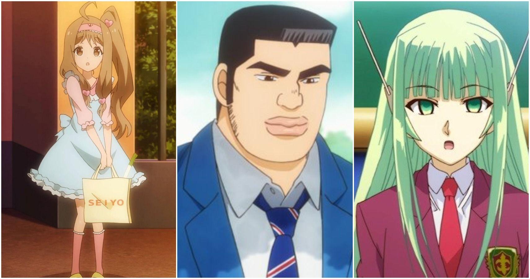 Older than anime girl boy relationship Run out