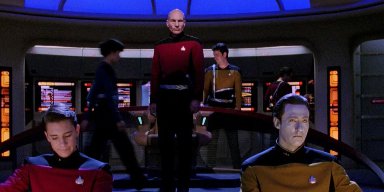 Star Trek: Lower Decks (Star Trek: Deques Inferiores) Acabam de criar uma linha canônica da TNG ridícula 1
