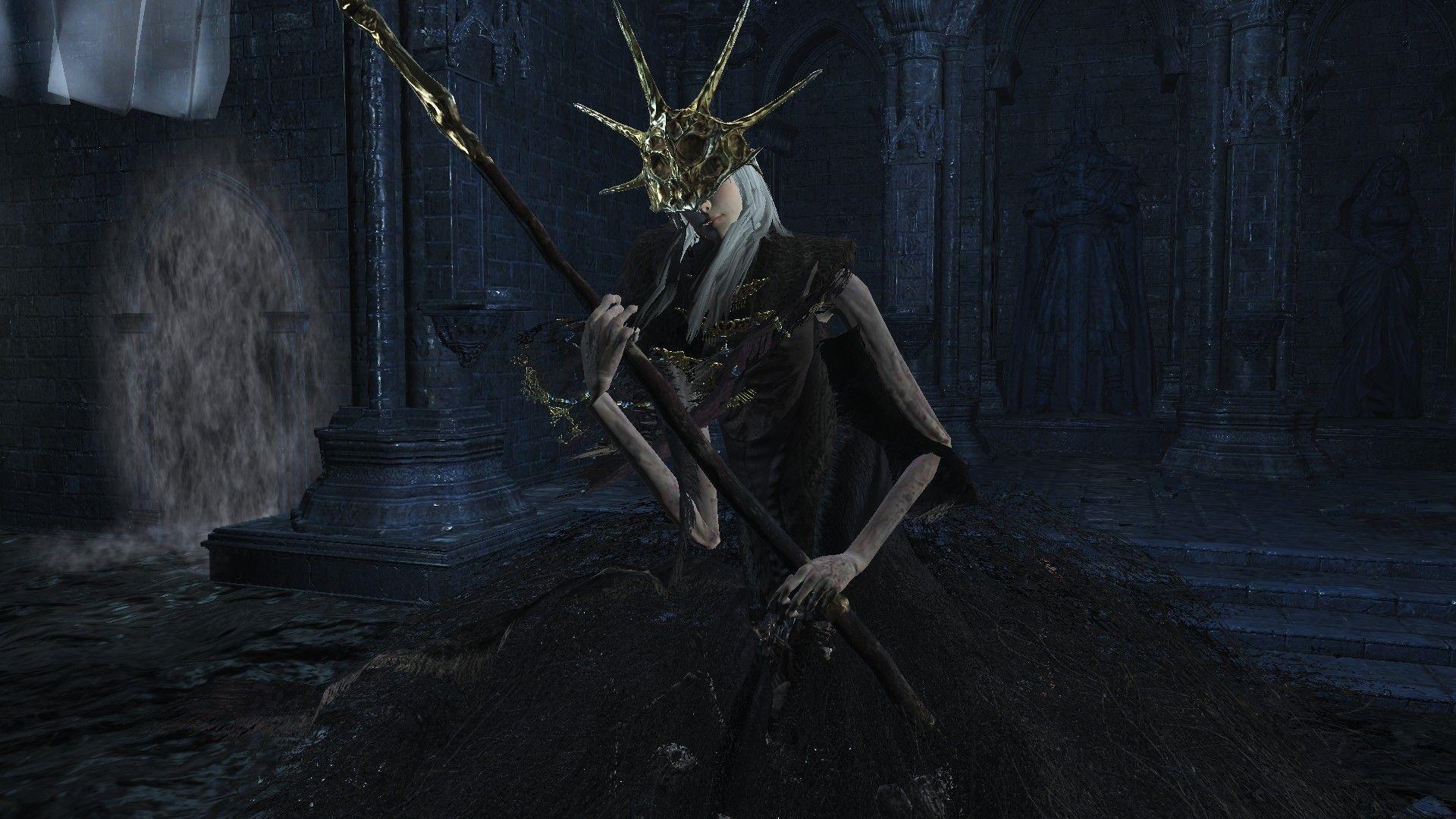 Dark Souls Anatomy: Aldrich Devorador dos Deuses é mais do que uma poça de gosma 2