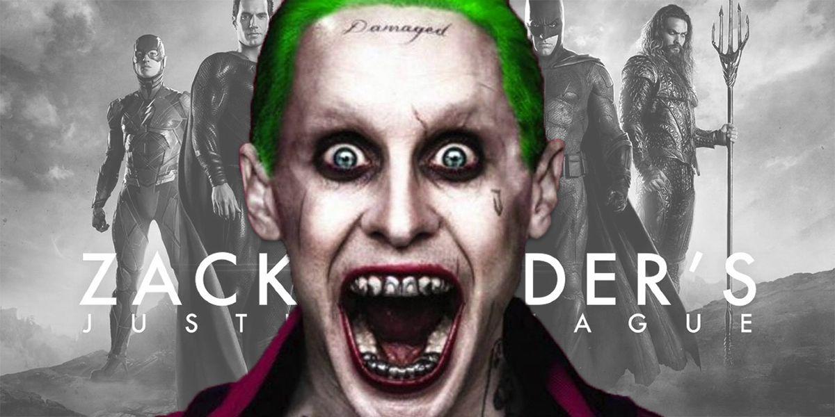 Justice League: Zack Snyder Shares Jared Leto Joker Image | CBR