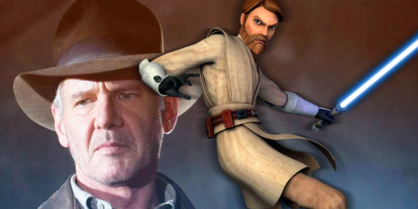 Star Wars: The Clone Wars Sneaked in an Indiana Jones Easter Egg