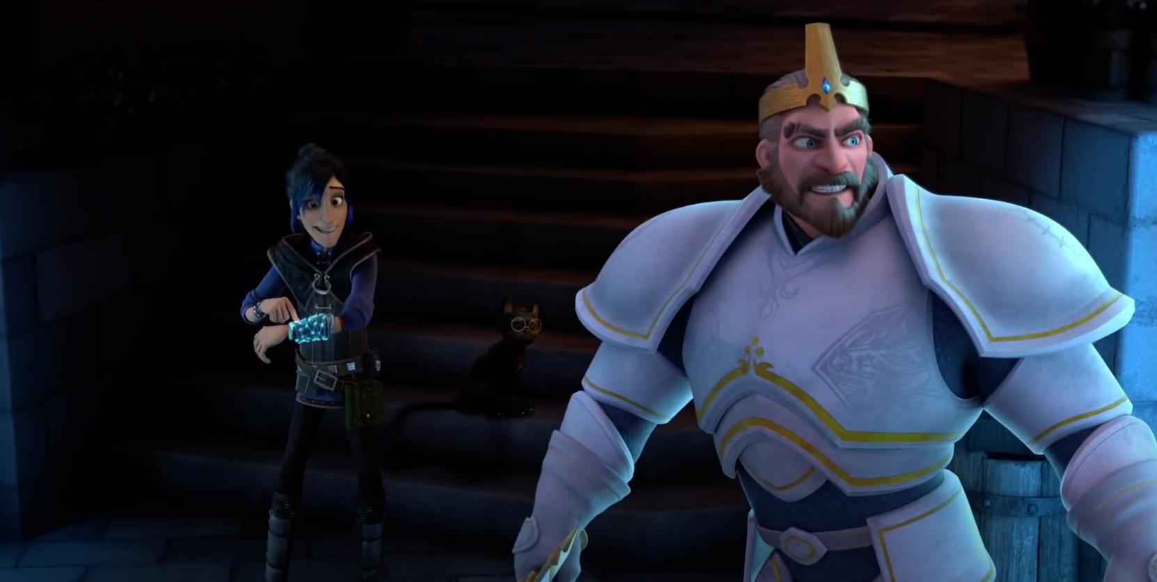 Wizards: Tales of Arcadia - Quem é o misterioso cavaleiro verde? 1