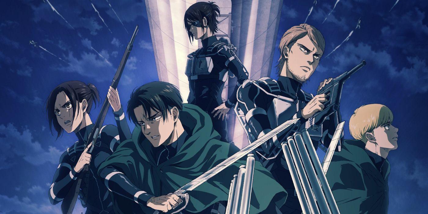 Attack on Titan: The Final Season Debuts Battle-Ready Poster Art