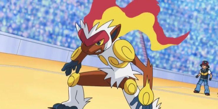 Infernape de Ash de Pokémon