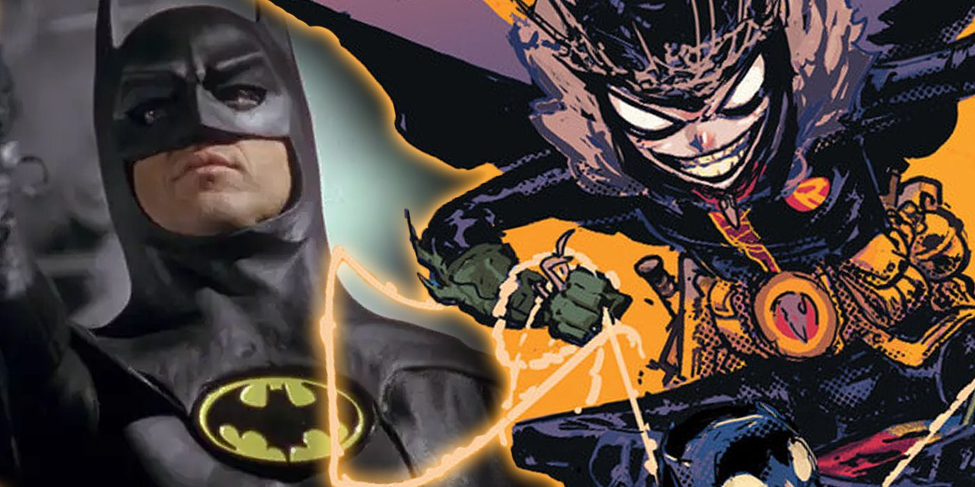 The Robin King Brings a Batman Movie Weapon Into DC's Death Metal