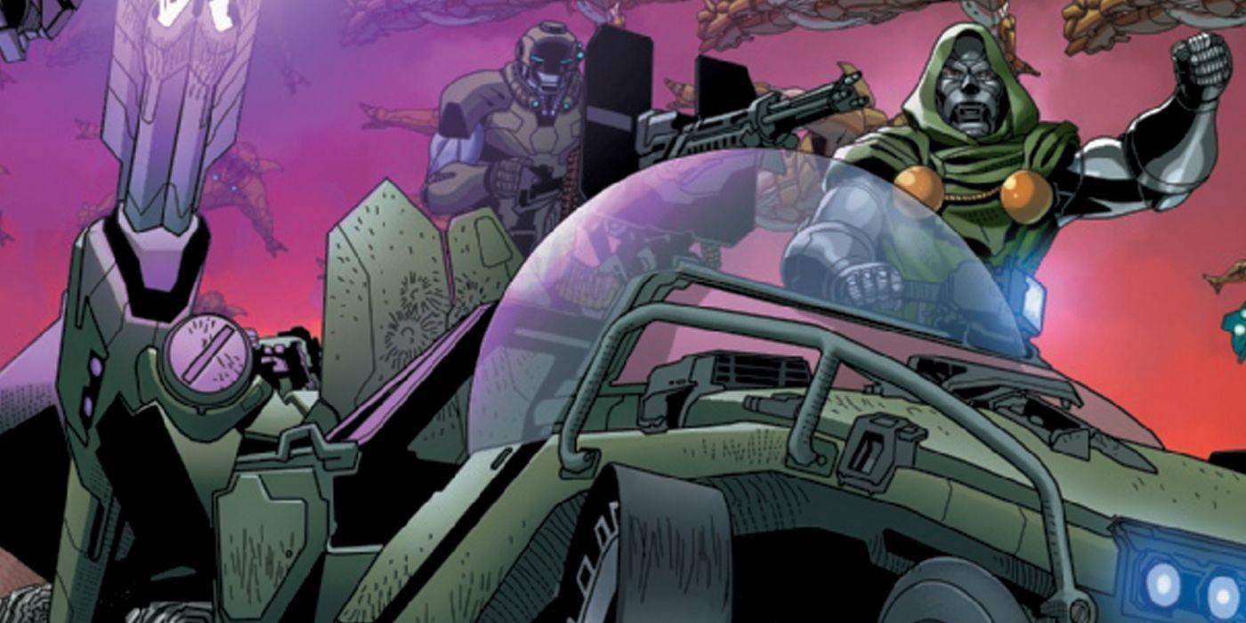 Doctor Doom 'Doutor Destino' acabou de conquistar uma CRUCIAL Nação Marvel 1