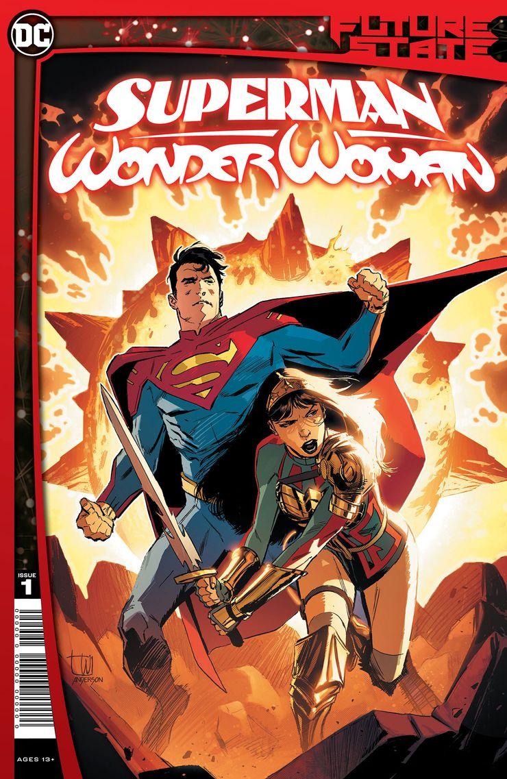 FS SMWW Cv1 - Future State de DC revela los principales planes familiares de Superman