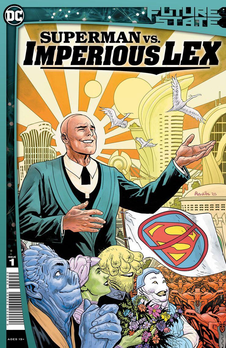 FS SMvsIMPLEX Cv1 - Future State de DC revela los principales planes familiares de Superman