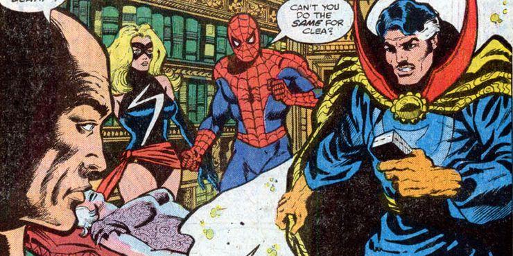 doctor strange and spider-man