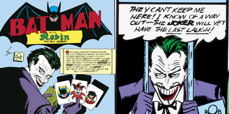The First 10 Villains Batman Added To His Rogues Gallery Cbr