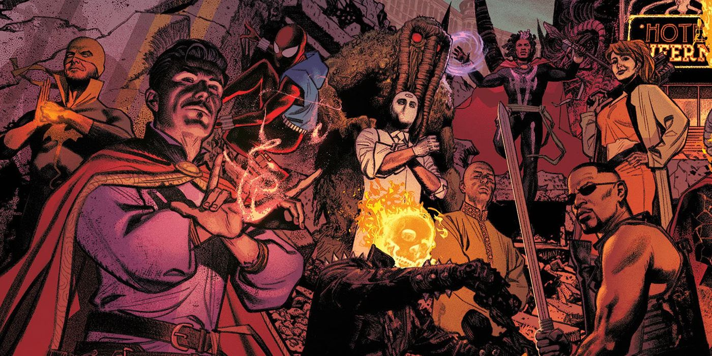 Ghost Rider: How Rise of the Midnight Sons United Marvel's DARKEST Her –  iNerd