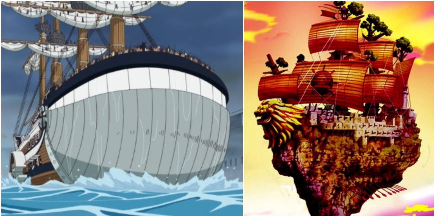 One Piece: 5 Pirate Ships With a Design More Striking Than ...