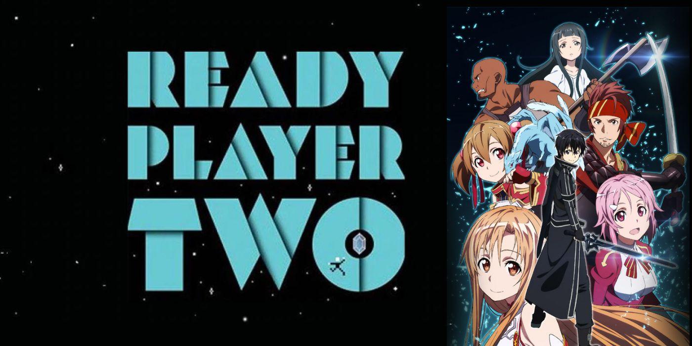 O Livro Ready Player Two (Jogador Nº 1 - 2) tem o Enredo muito parecido com Sword Art Online 4