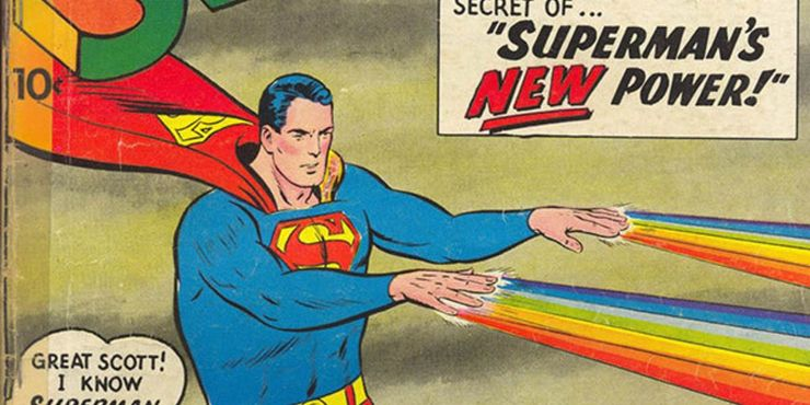 superman rainbow hand power - Datos sobre Superman que han cambiado y que han permanecido iguales