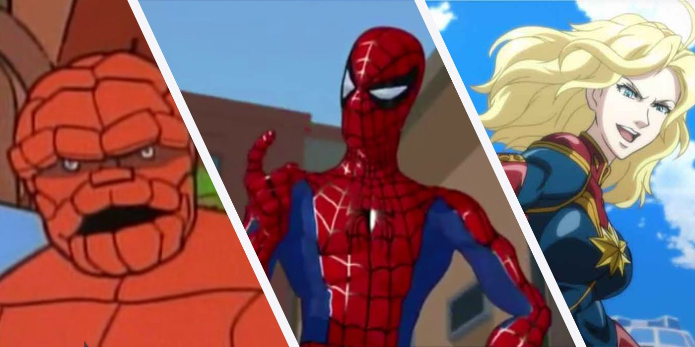 10 Animated Marvel Series You Had No Idea Existed