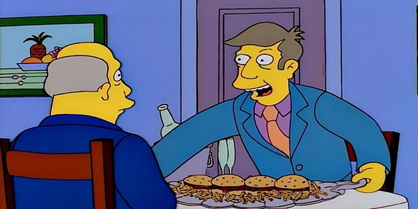 The Simpsons Made Steamed Hams a Restaurant | CBR