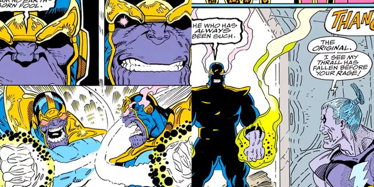 Though Thanos was a monster, even after he helped in saving the universe, there was no difference in treating him like one.