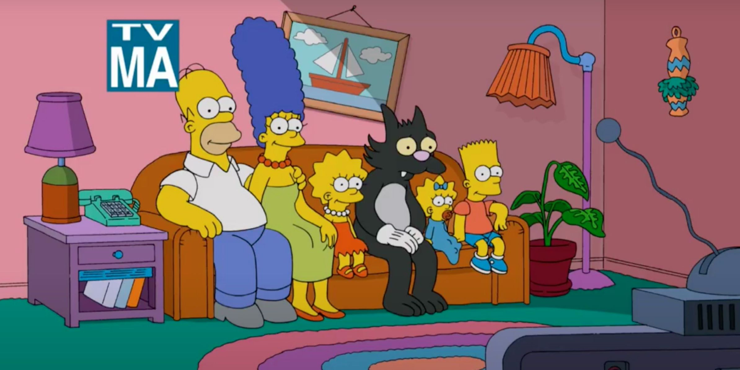 The Simpsons Only TV-MA Episode Is Censored on Disney+ | CBR