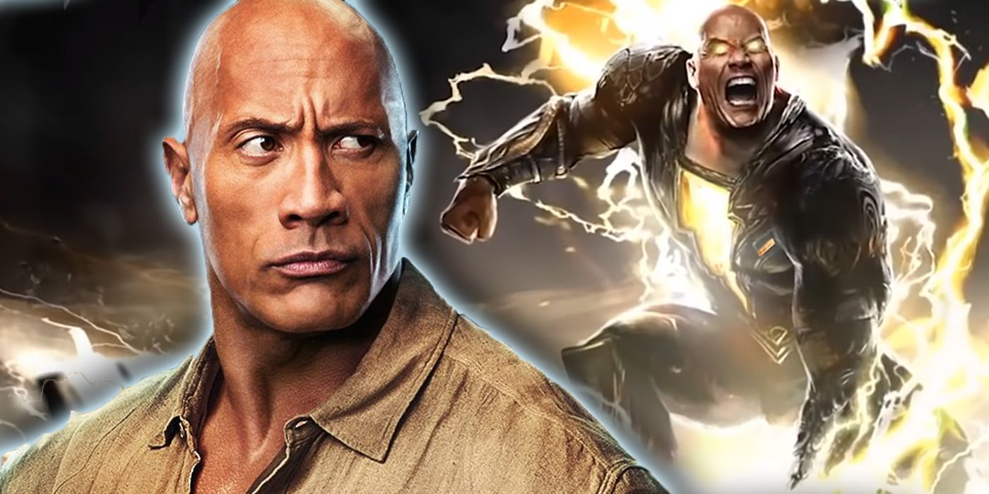 Black Adam Is Starting to Look More Like Dwayne Johnson's DCEU Hero