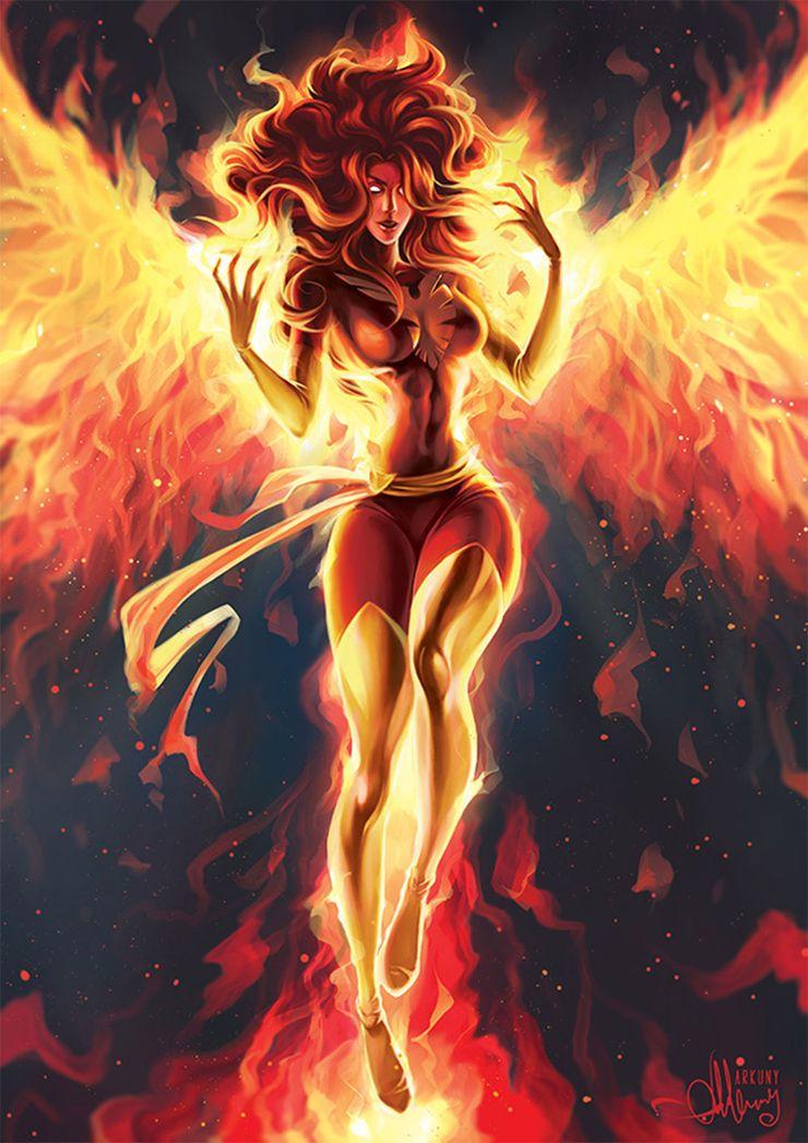 Image result for Dark phoenix fan art arkuni