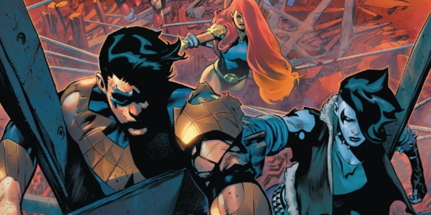 Teen Titans: Future State Shows How DEADLY DC's Dial H Can Be