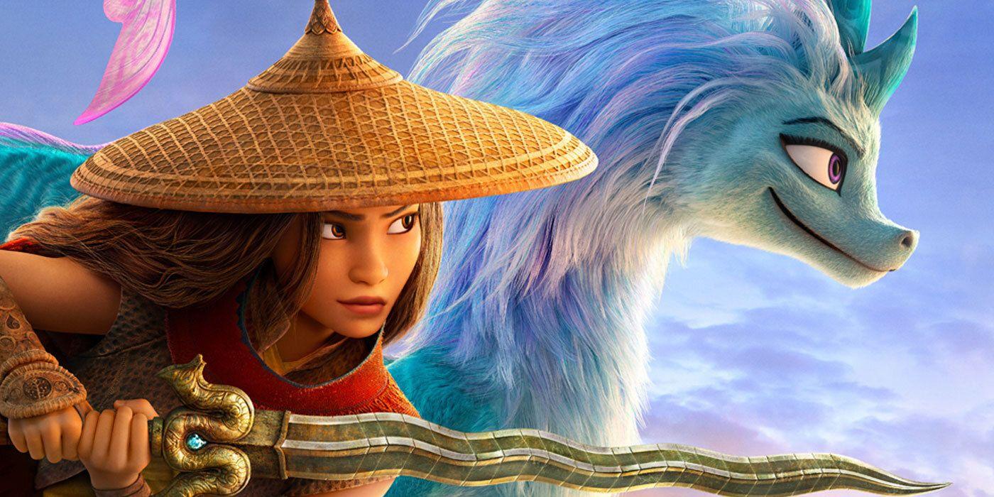 Disney's Raya & the Last Dragon Trailer Debuts Awkwafina's Dragon