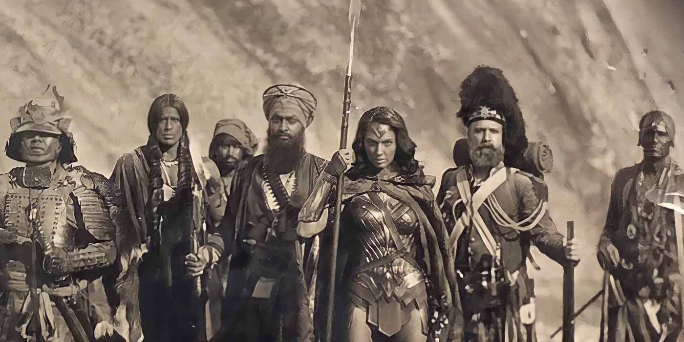 Zack Snyder Shares Pic of Wonder Woman With Severed Heads | CBR