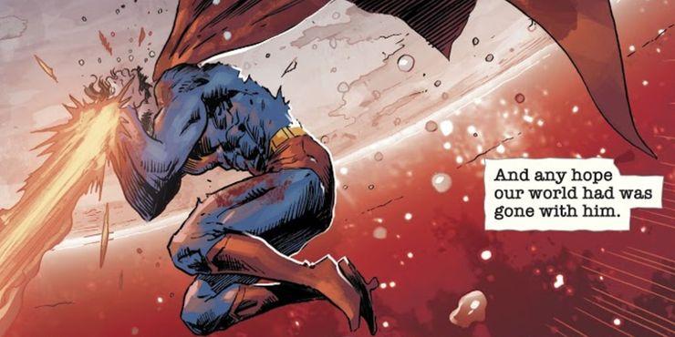 DCeased Superman Death - Las 10 mejores muertes de Superman