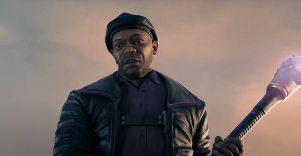 Samuel L. Jackson Becomes a Video Game Character for Verizon Super Bowl Ad