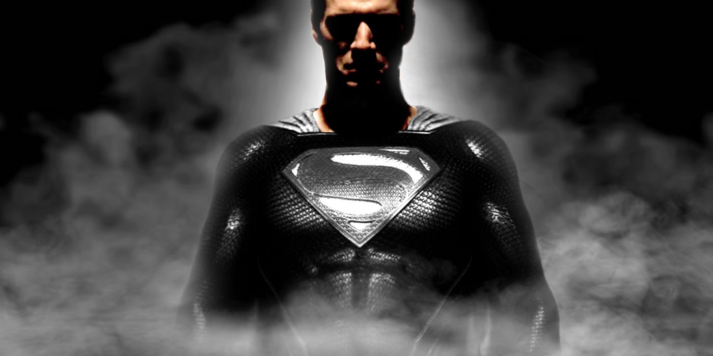 Justice League Black Suit Superman Mission Vision Action Figure