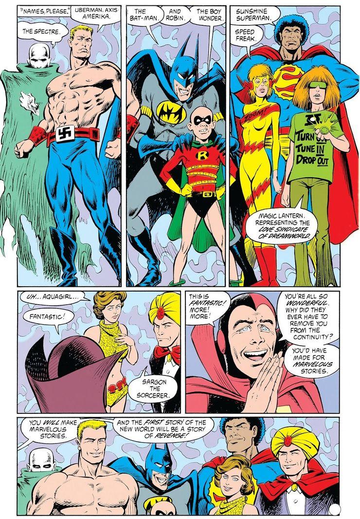 animal man 23 1 - ¿Quién fue el primer Superman negro?