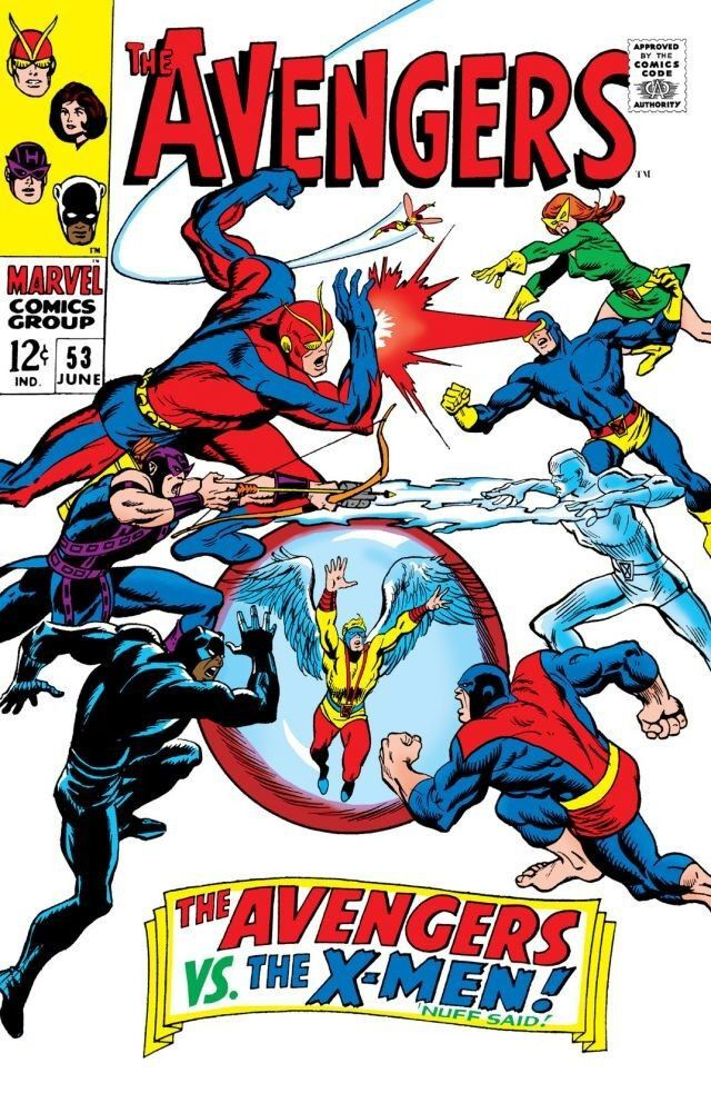 02/10 The Avengers: The Avengers Vs. The X-Men! - Nuff Said!