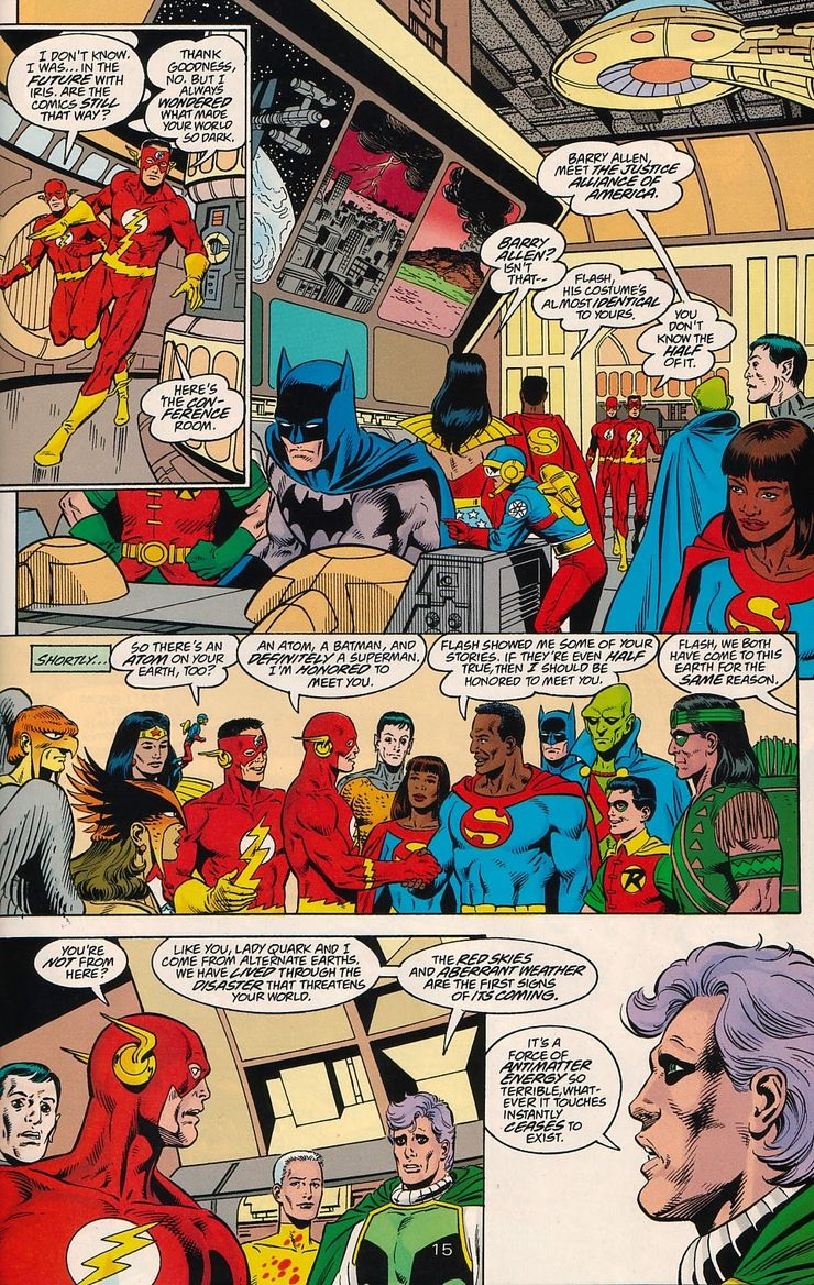 legends of dc universe crisis on infinite earths 1 1 - ¿Quién fue el primer Superman negro?