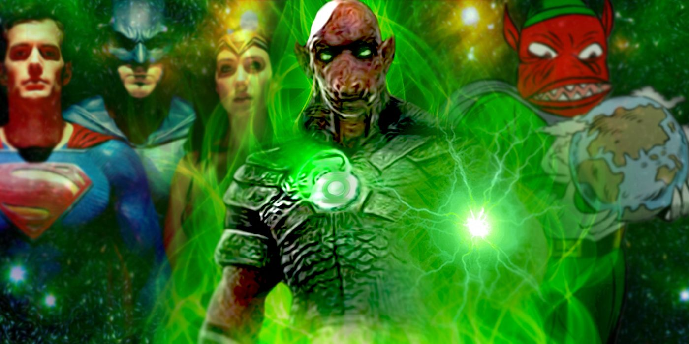 The Zack Snyder Justice League Green Lantern's Name, Powers and Dark Past