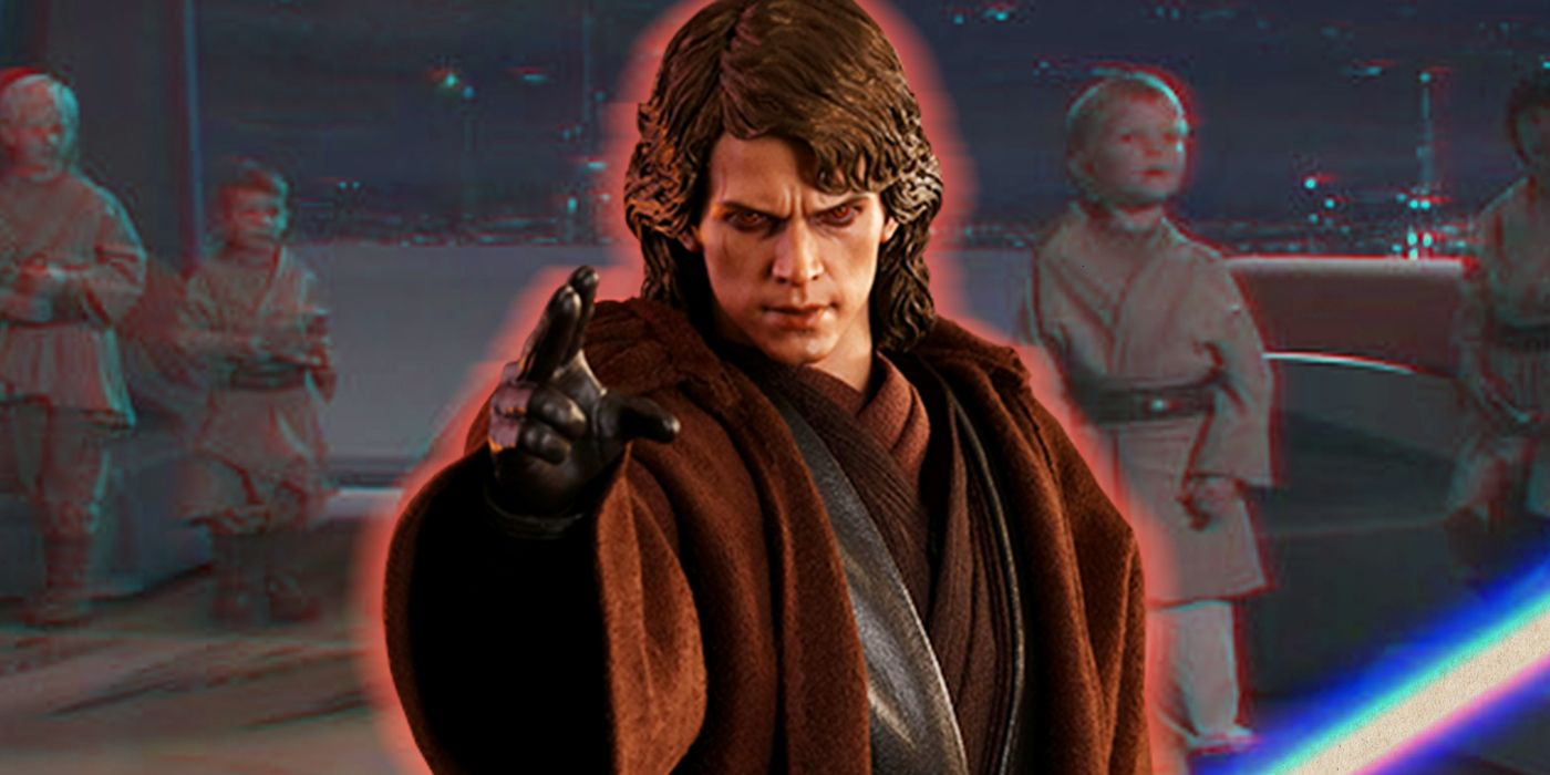 Star Wars: Why Anakin Massacred the Younglings in Revenge of the Sith