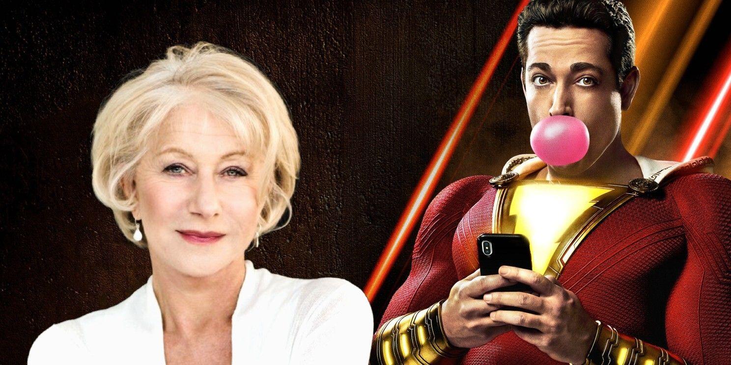 Shazam 2 Casts Helen Mirren as the Film's Demi-God Villain | CBR