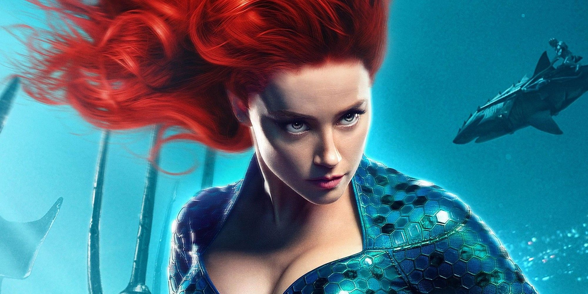 Amber Heard Celebrates Aquaman 2 With a Sleepy Throwback Photo