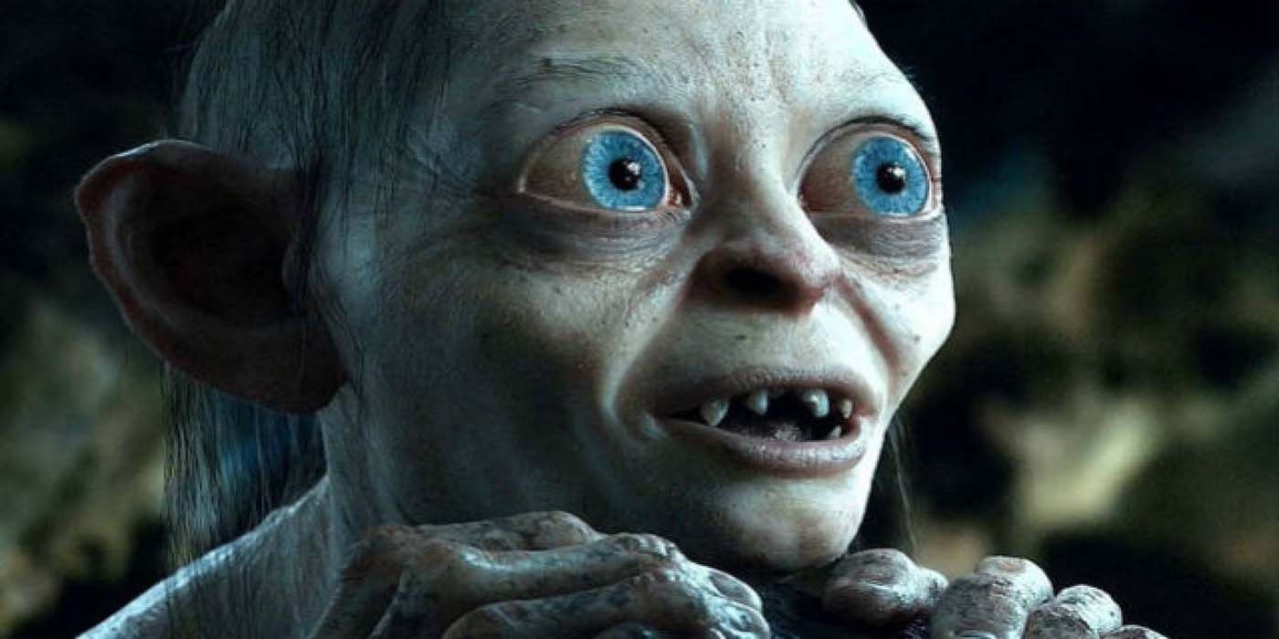 Lord of the Rings - Two Towers' Poster Has a Giant Gollum | CBR