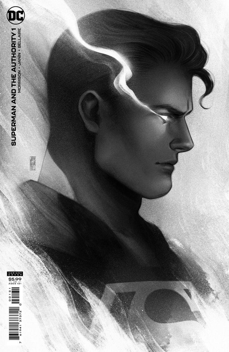 SMATA Cv1 1in25 var.jpg?q=50&fit=crop&w=740&h=1137&dpr=1 - Superman establecerá un Authority muy diferente en el DC Universe
