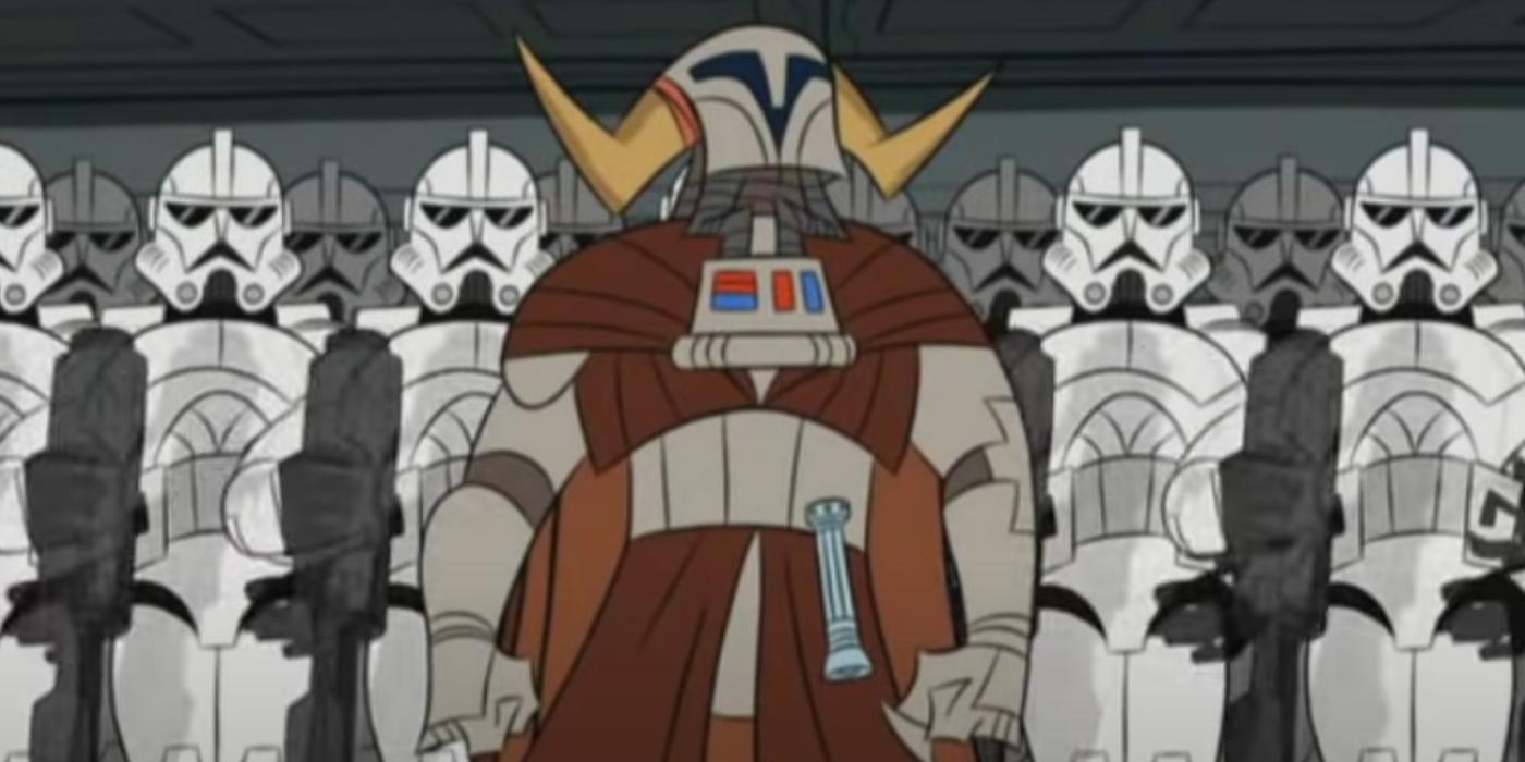 Star Wars: Tartakovsky's Clone Wars Allows Jedi Saesee Tiin to Shine