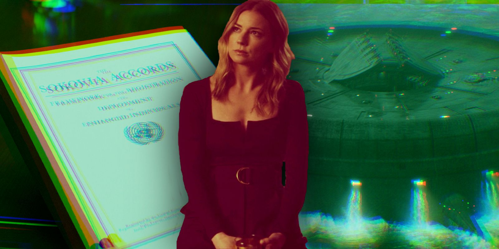 Falcon and Winter Soldier's Sharon Carter Problematizes the Sokovia Accords